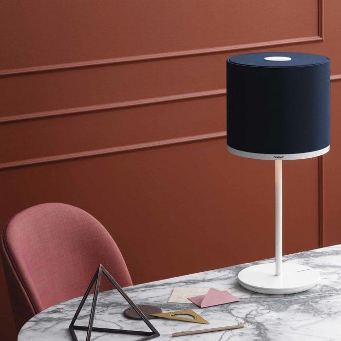 Pantone Lighting Capella table lamp with Mintaka shade