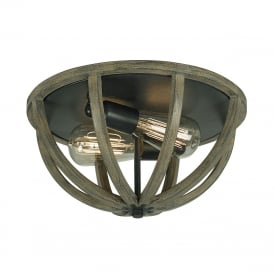 ALLIER Flush Ceiling Light