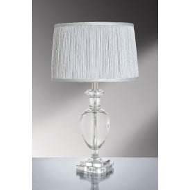 ANTONIA Crystal Temple Jar Table Lamp