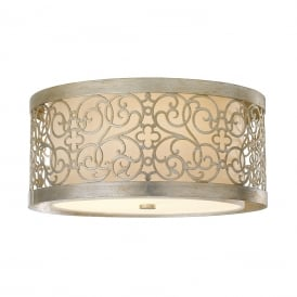 ARABESQUE Flush Ceiling Light