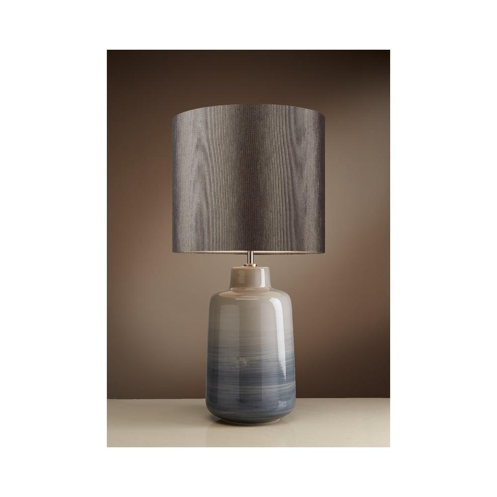 Bacari glazed ceramic table lamp