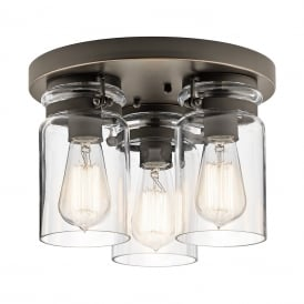 BRINLEY Flush Ceiling Light