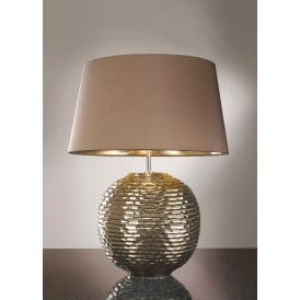 CAESAR GOLD Glazed Ceramic Table Lamp
