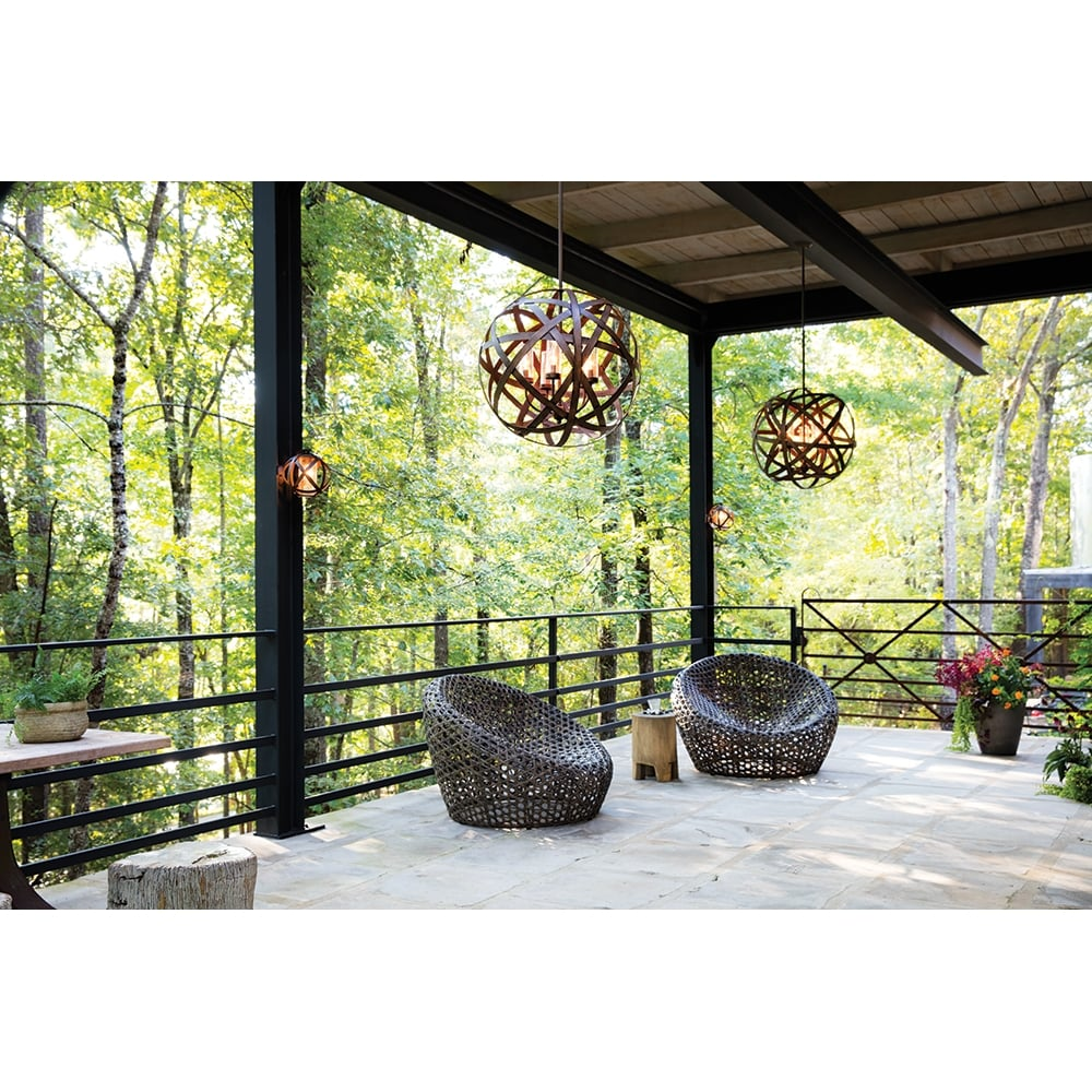 Hinkley Carson Outdoor Chandelier Ceiling Lights Moonbeam