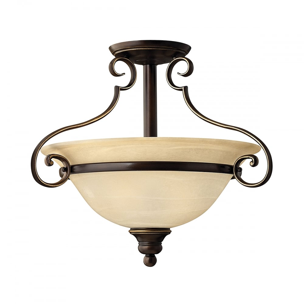 Hinkley Cello Semi-Flush Ceiling Light | Lights | Moonbeam