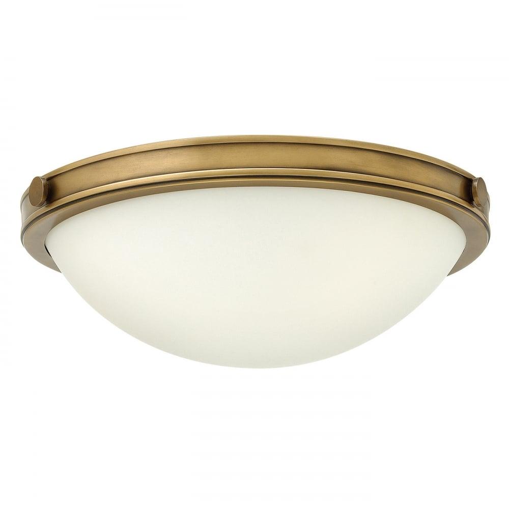 Hinkley Collier Semi Flush Ceiling Light Moonbeam