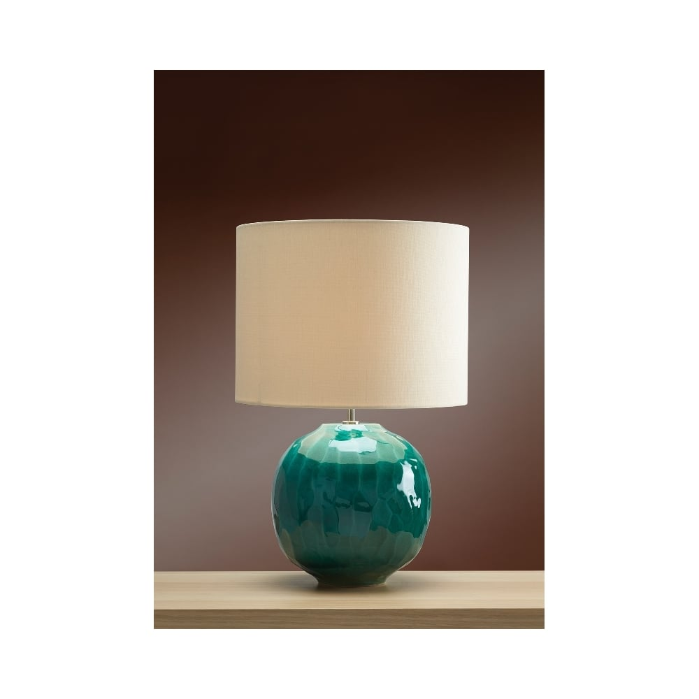 Luis collection glazed ceramic table lamp lamps moonbeam green globe glazed ceramic table lamp aloadofball Images