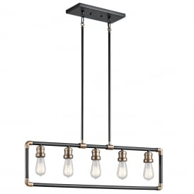 IMAHN Linear Chandelier