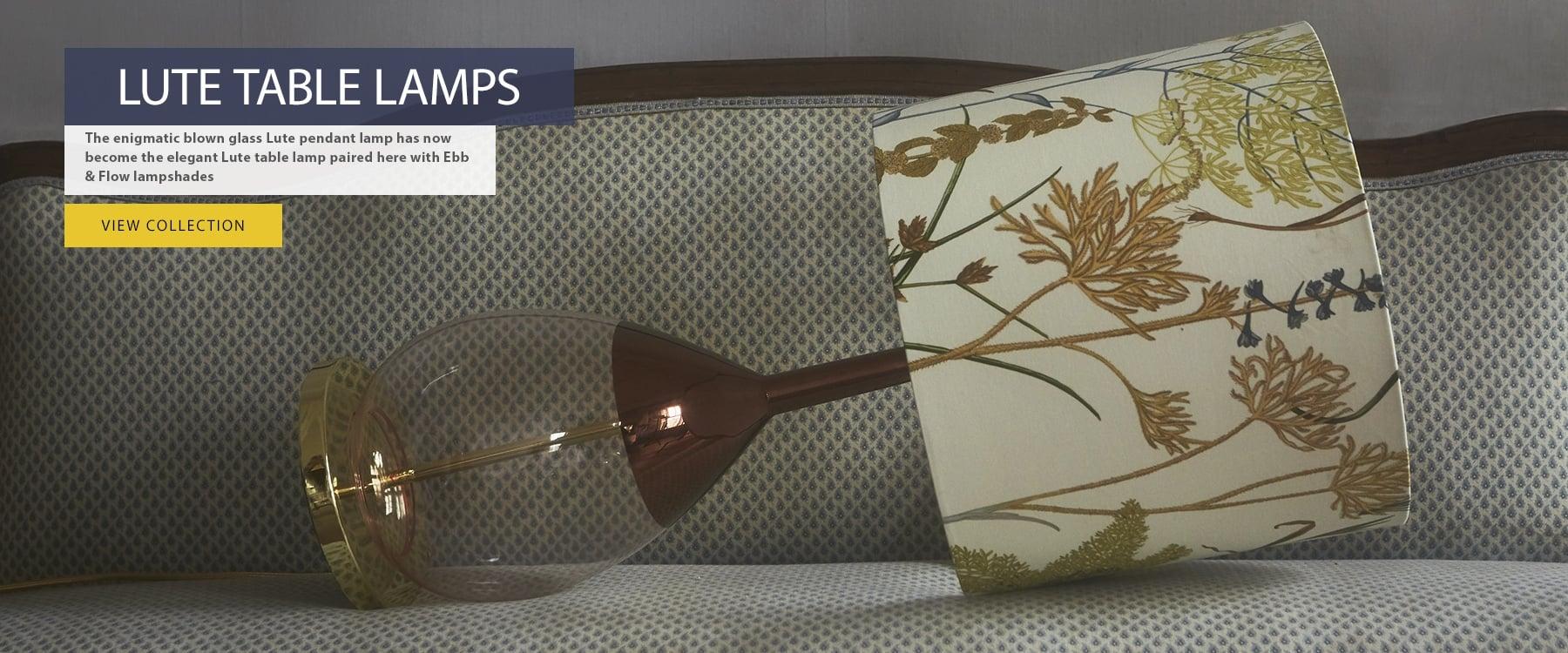 Ebb & Flow Lute Table Lamp