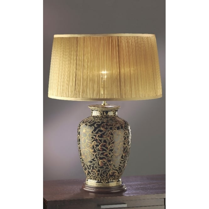 Lui S Collection Chinese Porcelein Table Lamp Moonbeam