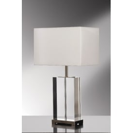 VALENTINA LUI Crystal Table Lamp