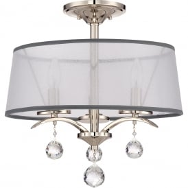 WHITNEY Semi-Flush Ceiling Light